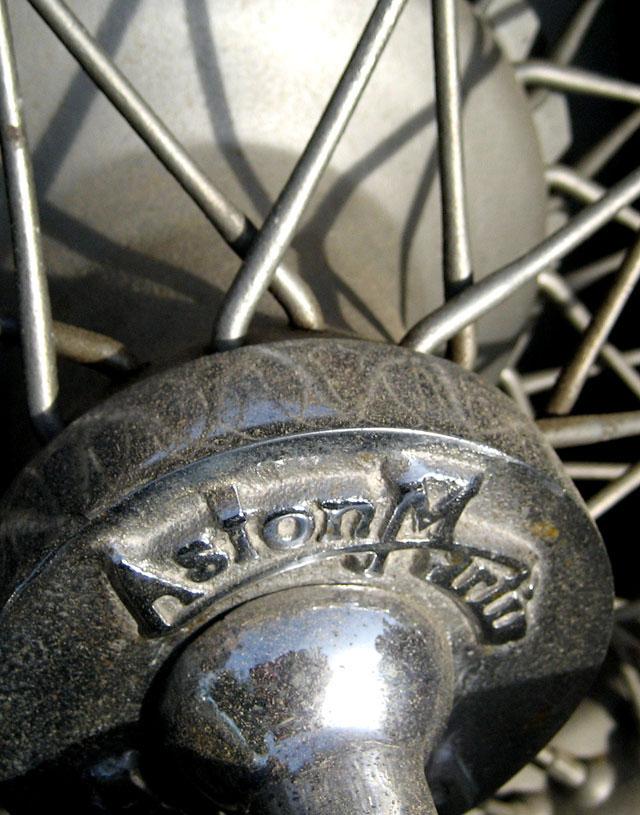 1934 Aston Martin Wheel